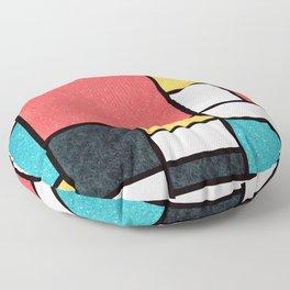 Clean Mondrian (Sponge) Floor Pillow