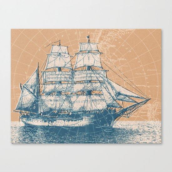 Age of Exploration Canvas Print