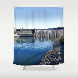 Grand Coulee Dam Shower Curtain