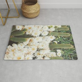 Cactus and Flowers Rug