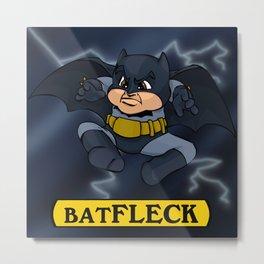 Batfleck Metal Print