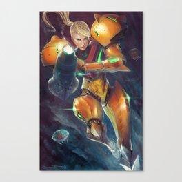Samus Aran Canvas Print