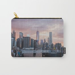 Freedom - New York City Sunset Skyline Carry-All Pouch