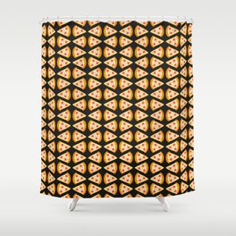 Pizza lovers Shower Curtain