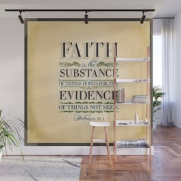 The Substance of Things Hoped for . . . Wall Mural