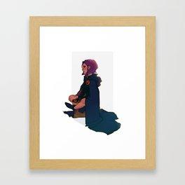 +Raven+ Framed Art Print