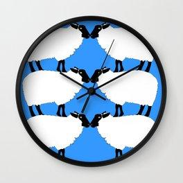 Julie's Sheep Wall Clock