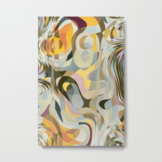 Cold Convergence Metal Print