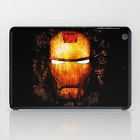 iron man iPad Cases featuring Iron Man by Sirenphotos