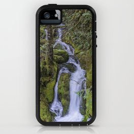 Falls Flowing Amongst the Moss iPhone Case