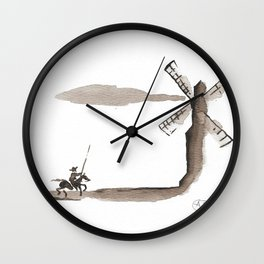 Don Quixote de la Mancha Wall Clock