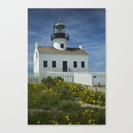 Cabrillo National Monument Lighthouse Canvas Print