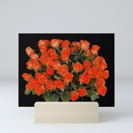Red Rose Bouquet Mini Art Print