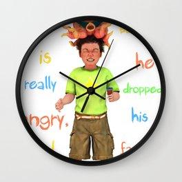 Angryocto - Tony's IceCream Wall Clock