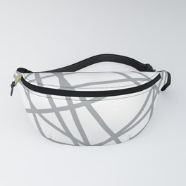 To The Edge Grey Fanny Pack