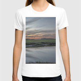 Ocean River Sunset in Essex T-shirt