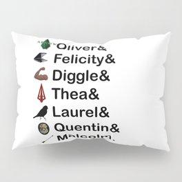 Arrow Names Pillow Sham