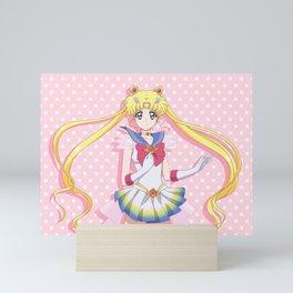 Sailor Moon Crystal 3 Dotted Mini Art Print