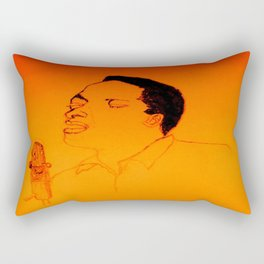Sam Cooke Rectangular Pillow