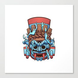Tlaloc Vessel Canvas Print