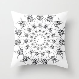 """Brix and Bailey: """"Bettle Mania"""" Throw Pillow"""