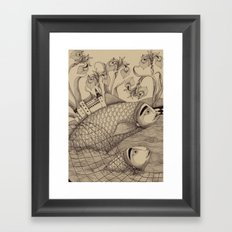 The Golden Fish (1) Framed Art Print
