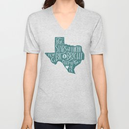 Heart of Texas Unisex V-Neck