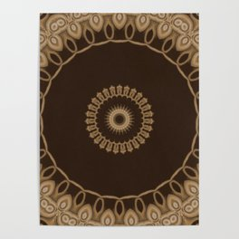 Sequential Baseline Mandala 25 Poster