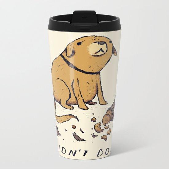 guilty dog Metal Travel Mug