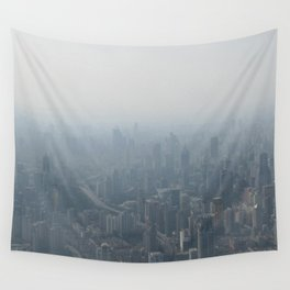 fade to gray (Shanghai) Wall Tapestry