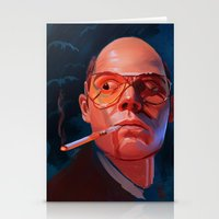 fear and loathing Stationery Cards featuring Fear & Loathing by RileyStark