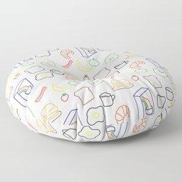 Breakfast Baby! Floor Pillow