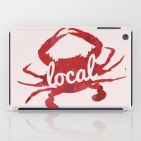 maryland iPad Cases featuring Maryland Red Crab Local by O'Postrophy