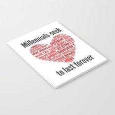 millennials seek love to last forever Notebook