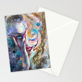 Swirling Sensation Stationery Cards