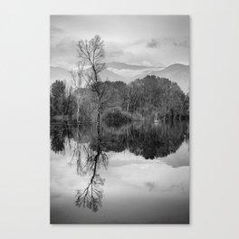 """Mammoth paradise"". Mono. Canvas Print"