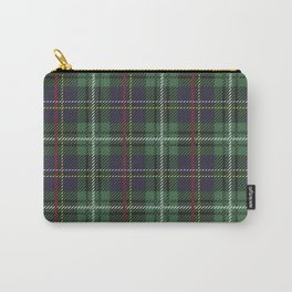 Green Christmas tartan plaid Carry-All Pouch