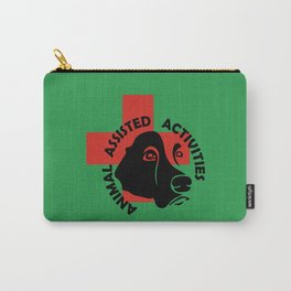 Animal Assisted Activities  - THERAPY DOG logo 7 Carry-All Pouch