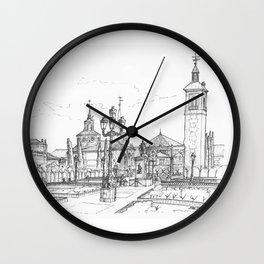 Plaza de Cervantes Wall Clock