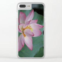 Hangzhou Lotus Clear iPhone Case