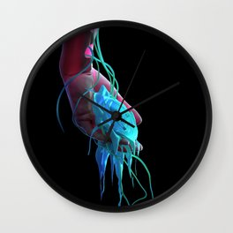 IMMORTAL FEELINGS II Wall Clock