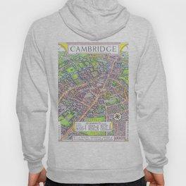 CAMBRIDGE University map ENGLAND Hoody