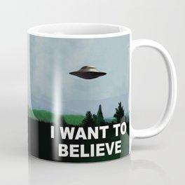 i want to believe! Coffee Mug