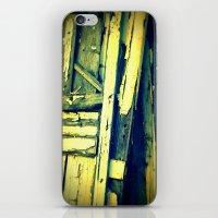 doors iPhone & iPod Skins featuring doors by Krista Glavich