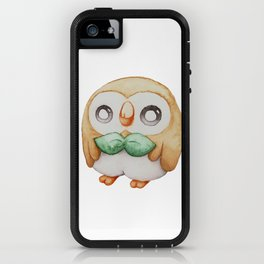 Rowlet - Pocket Monster iPhone Case