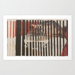 'Lauren' Art Print