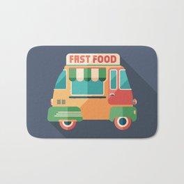 Fast Food Van Bath Mat