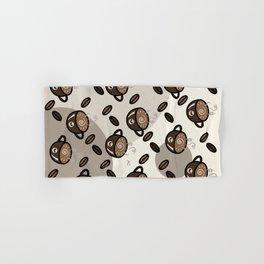 Coffee Art Hand & Bath Towel