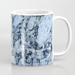 Blue textured granite rock Coffee Mug