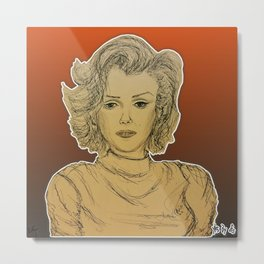 (One And Only - Marilyn) - yks by ofs珊 Metal Print